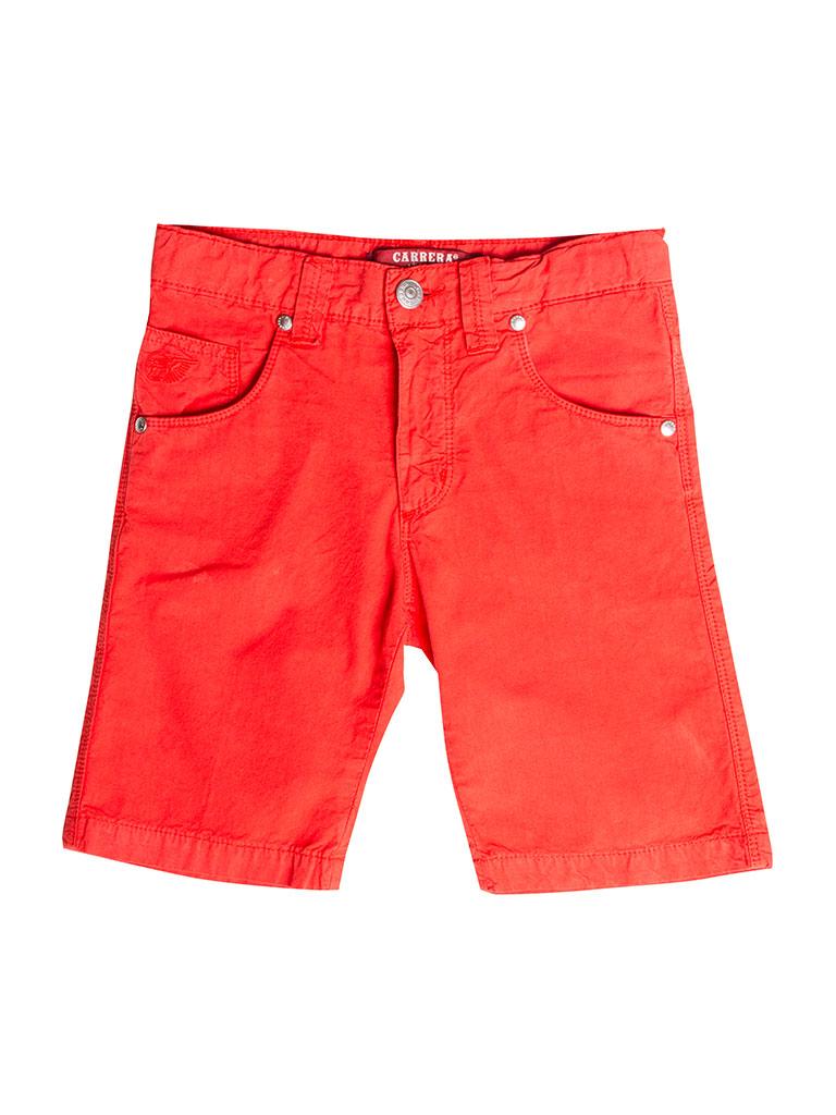 Tinta Unita Carrera Jeans Bermuda per Bambino e Bambina Tessuto di Popeline IT 164