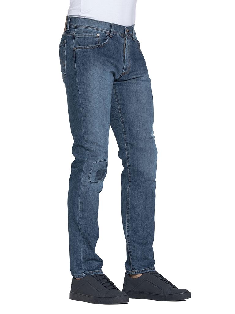 Dettagli su Carrera Jeans Jeans 710 uomo elasticizzato modello dritto