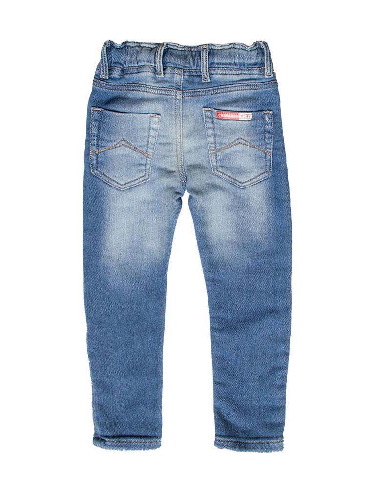 Look Denim Interno Felpato Carrera Jeans Jogger Jeans per Bambino