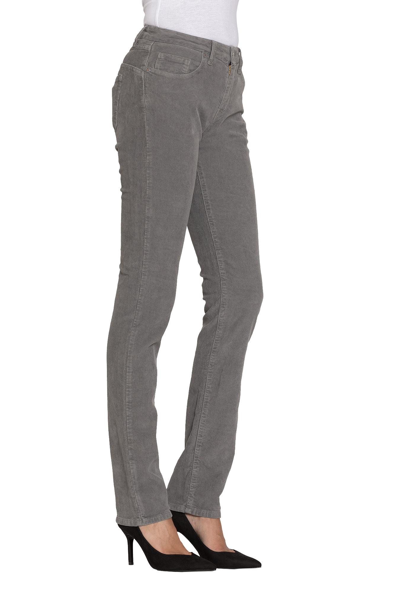 Terciopelo Color Liso Carrera Jeans Pantalones Para Mujer Pantalones