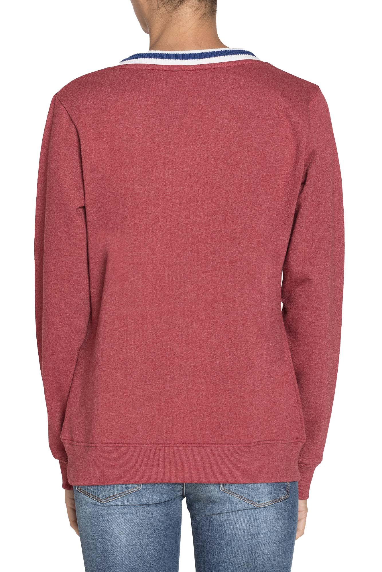 uk availability 99859 26a29 Dettagli su Carrera Jeans - Felpa per donna, con logo stampato