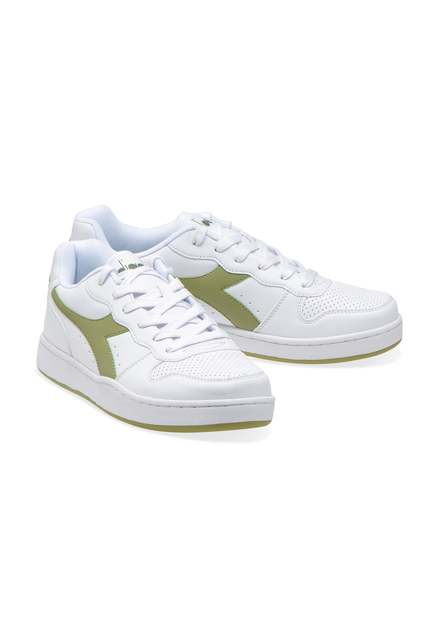 Scarpe-Diadora-Playground-Sneakers-sportive-uomo-donna-vari-colori-piu-taglie miniatura 35