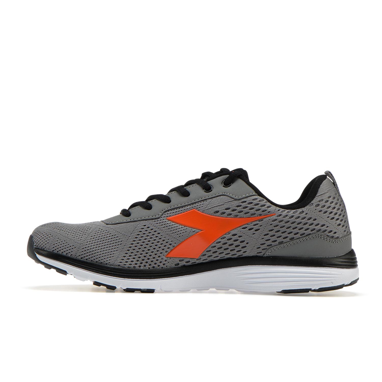 Diadora scarpe da running eagle c grigio scuro e nero privalia grigio sintetico
