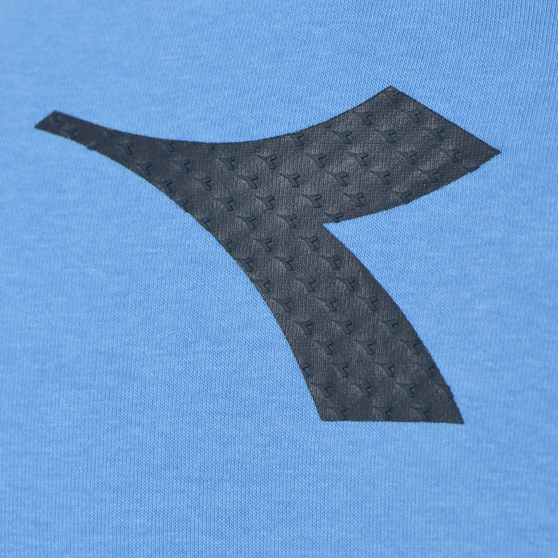 Diadora Felpa Crewneck Sweat Logo per Uomo
