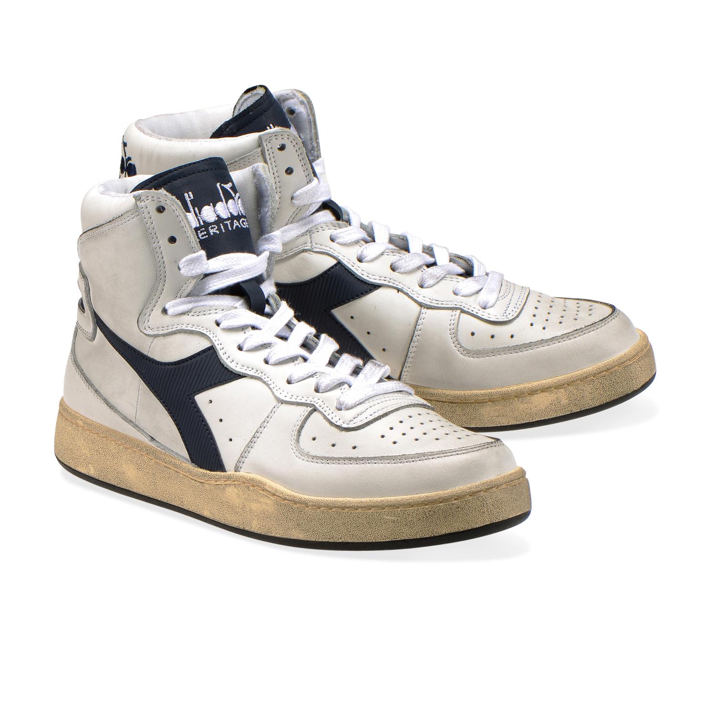 Cena obniżona autentyczna jakość wiele modnych Details about Diadora Heritage - Sneakers MI BASKET USED for man and woman