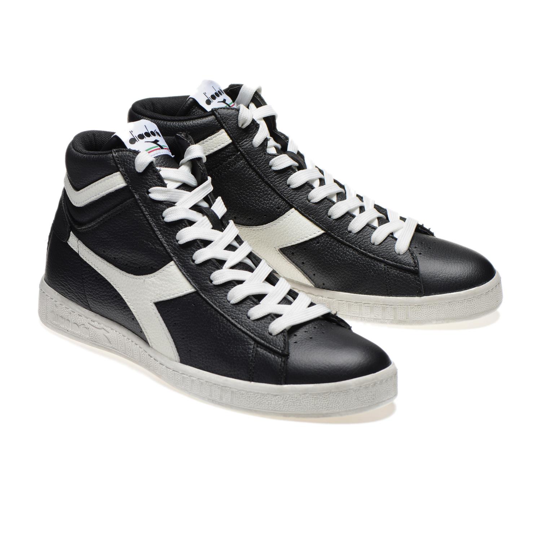Scarpe-Diadora-Game-L-High-Waxed-Sneakers-uomo-donna-vari-colori-e-taglie miniatura 5