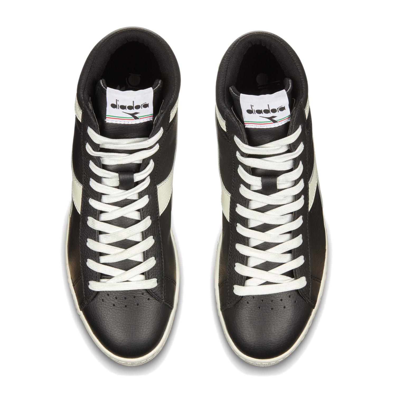 Scarpe-Diadora-Game-L-High-Waxed-Sneakers-uomo-donna-vari-colori-e-taglie miniatura 9