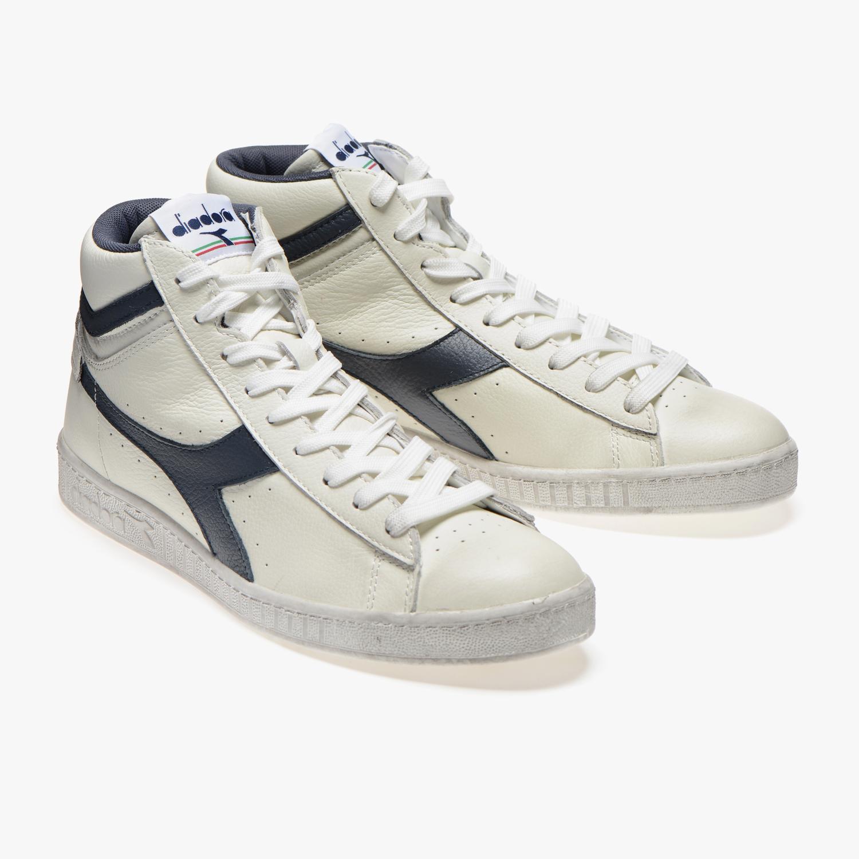 Scarpe-Diadora-Game-L-High-Waxed-Sneakers-uomo-donna-vari-colori-e-taglie miniatura 36