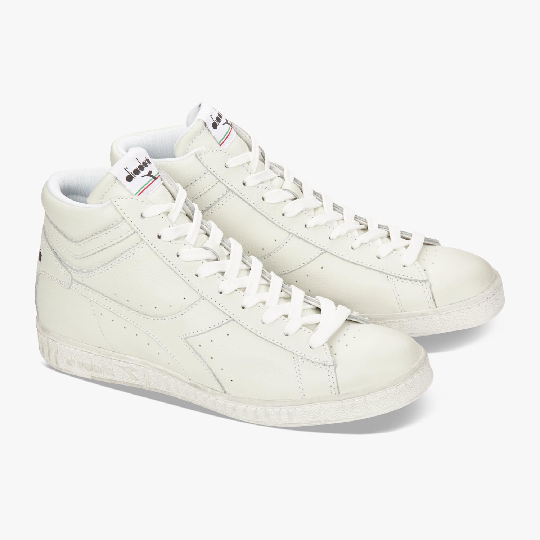Scarpe-Diadora-Game-L-High-Waxed-Sneakers-uomo-donna-vari-colori-e-taglie miniatura 46