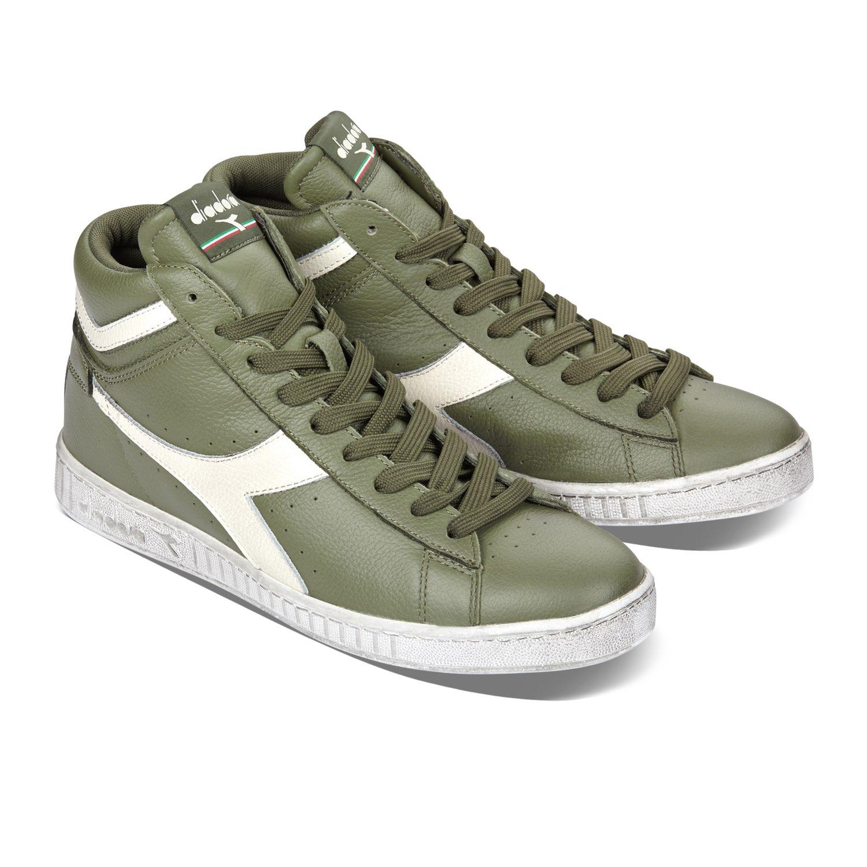 Scarpe-Diadora-Game-L-High-Waxed-Sneakers-uomo-donna-vari-colori-e-taglie miniatura 59