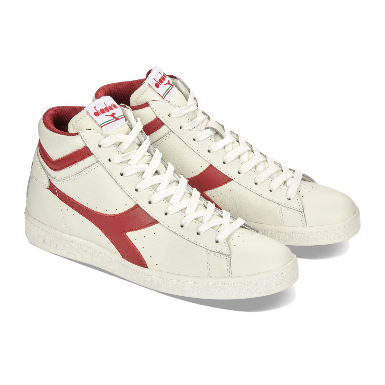 Scarpe-Diadora-Game-L-High-Waxed-Sneakers-uomo-donna-vari-colori-e-taglie miniatura 64