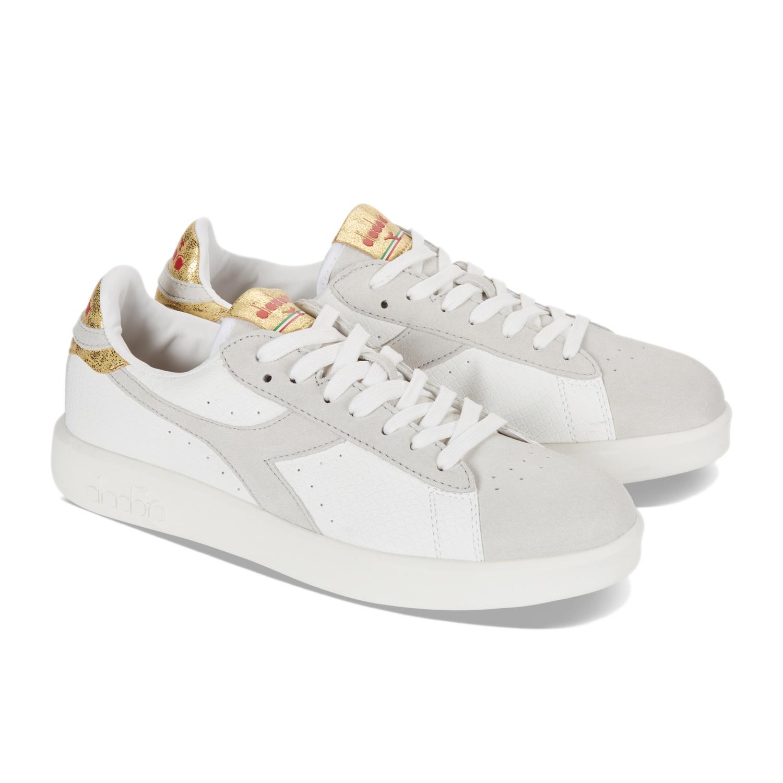 Donna GAME WIDE XMAS Bianco   Sneakers Diadora