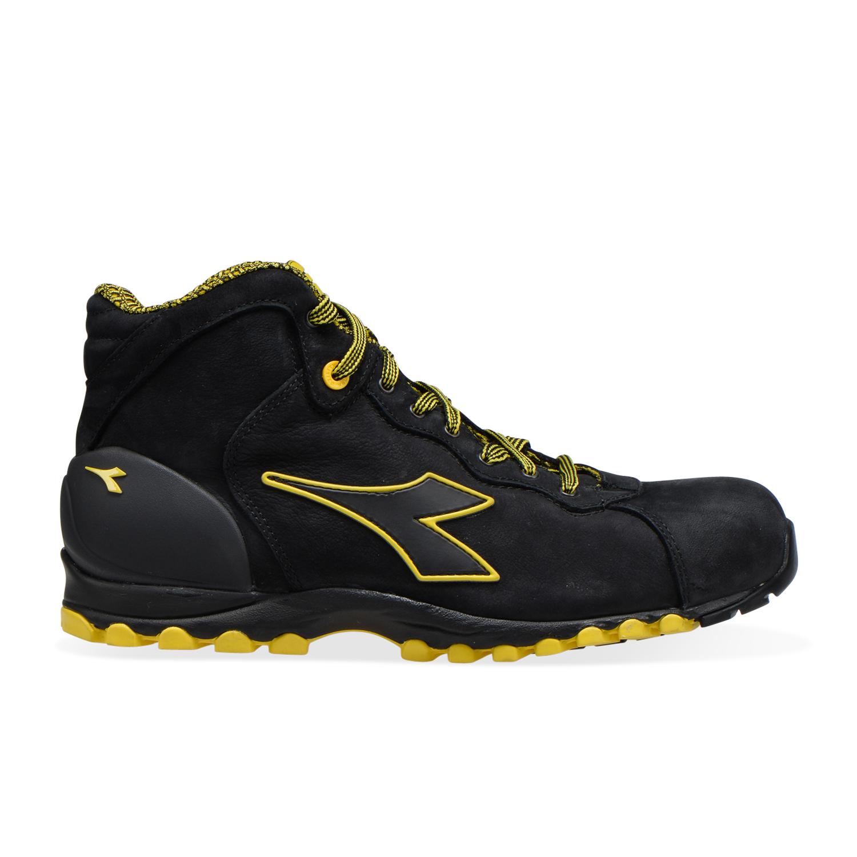 Détails sur Utility Diadora Chaussures de travail montantes BEAT II HI S3 HRO SRC