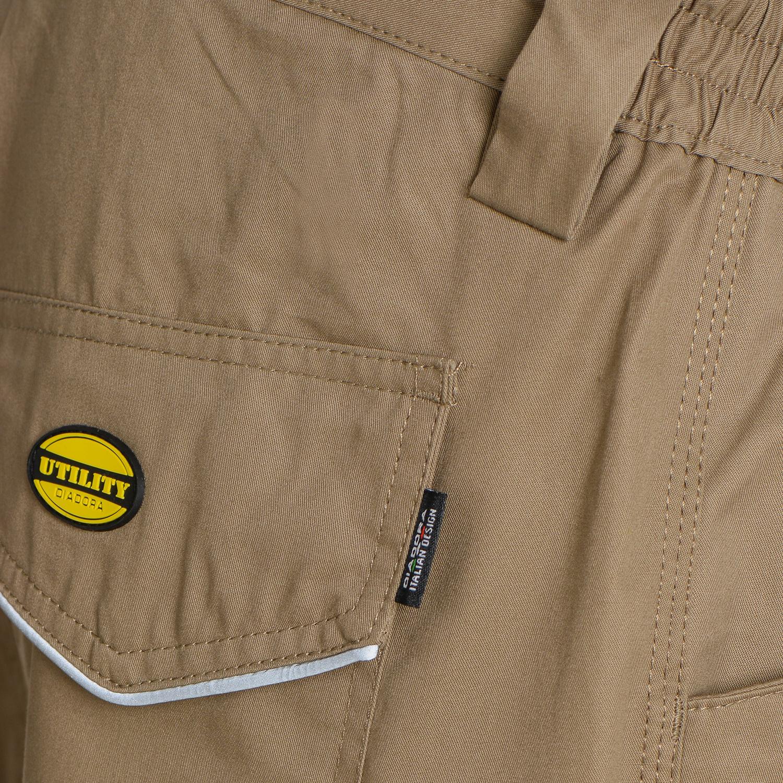 Abbigliamento Abbigliamento da lavoro e divise Utility Diadora Pantalone da Lavoro Rock Light Cotton ISO 13688:2013 per Uomo IT M